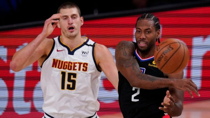NBA-Playoffs- Lenard and George keep Clippers in the game, Mitchel got injured