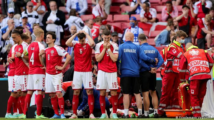 UEFA-Euro 2020- Eriksen collapses, fight for his life won after reanimation but probably will never play again